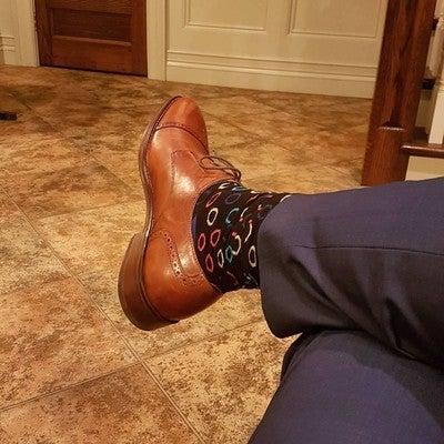 Men's Jefferson Grand Cap Toe Oxford in