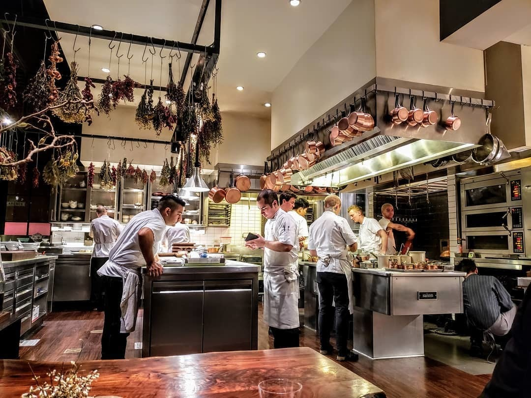 Saison in San Francisco serves California cuisine
