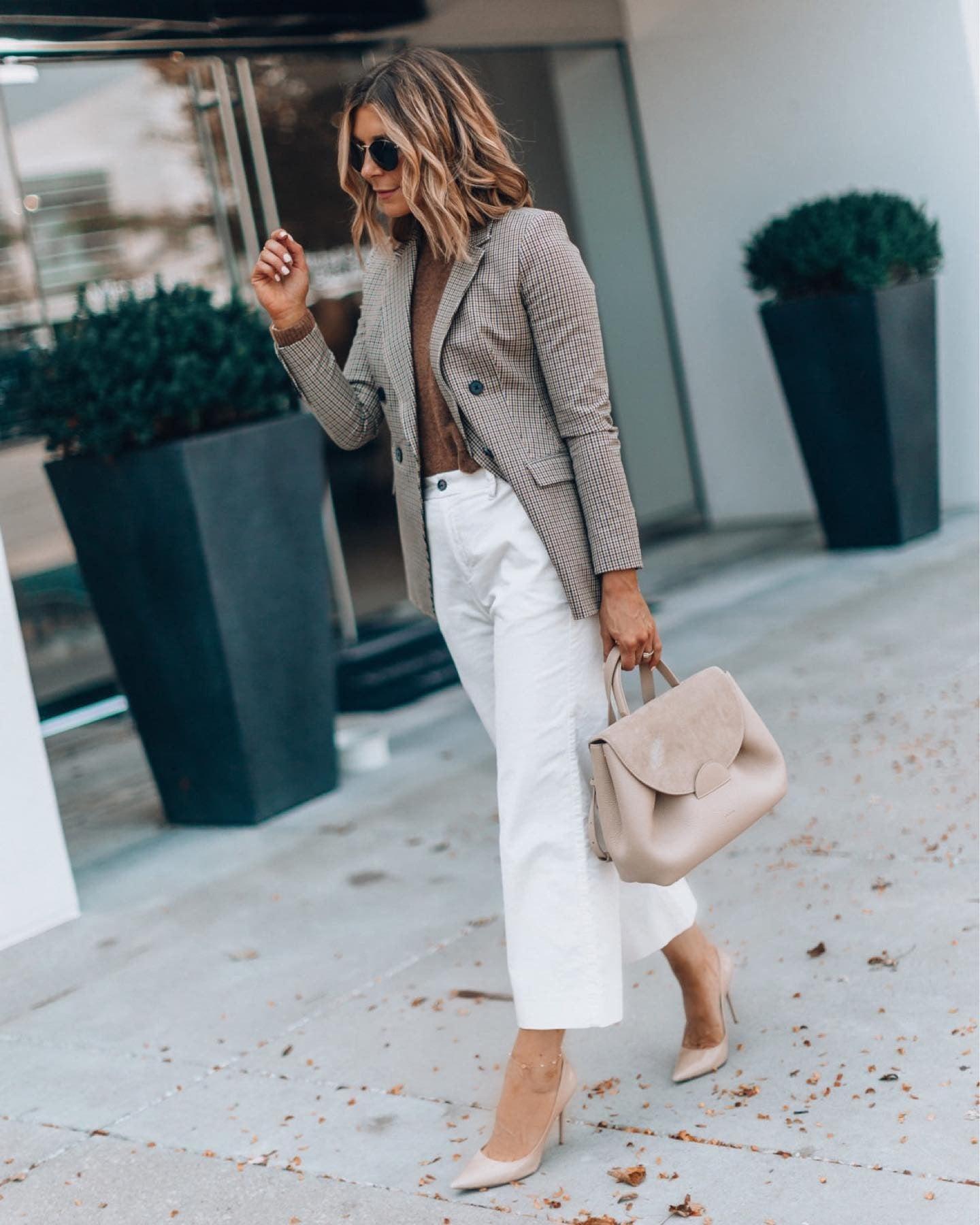 image by cellajaneblog containing Clothing, White, Street fashion, Blazer, Fashion