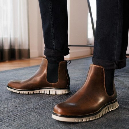 Chelsea Boot in Bourbon Leather