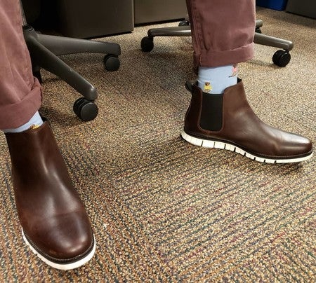 Chelsea Boot in Chestnut Leather