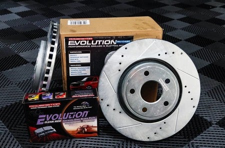 Power Stop EBR862 Autospeciality Stock Replacement Front Brake Rotor