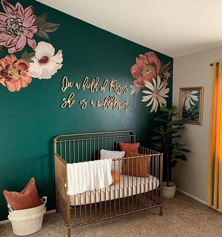 Eden Floral Decals Project Nursery