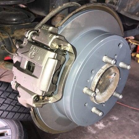 Power Stop KOE8063 Autospecialty Stock Replacement Rear Brake Kit-OE Brake Rotors /& Z17 Ceramic Brake Pads