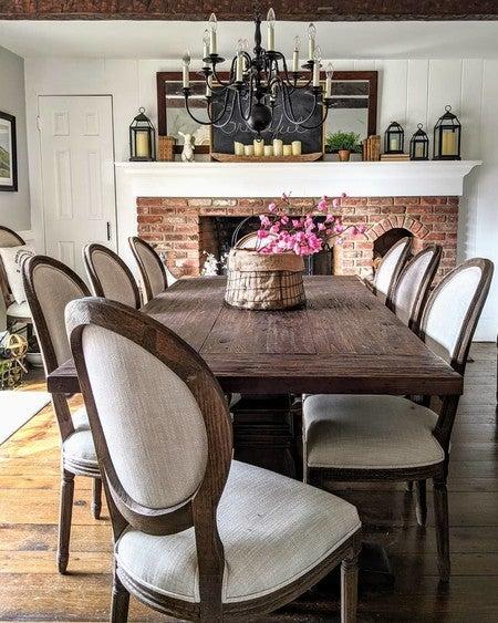 Ivory Louis Dining Chair Kirklands, King Louis Dining Room Set
