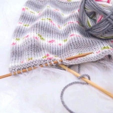 Toy Knitting Set My First Knitting /& Craft Set