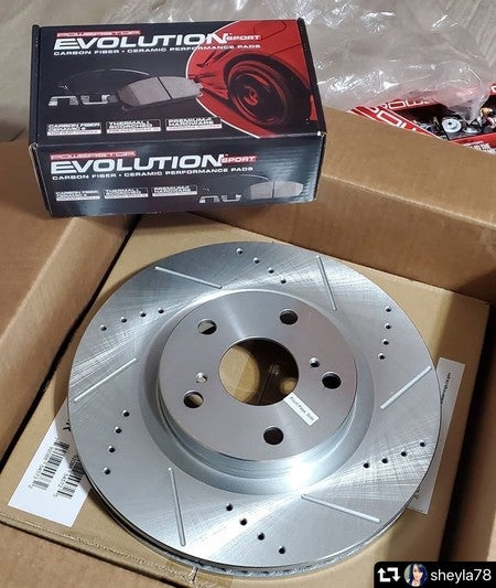 Power Stop K8029 Front Z23 Evolution/Sport Brake Upgrade Kit /