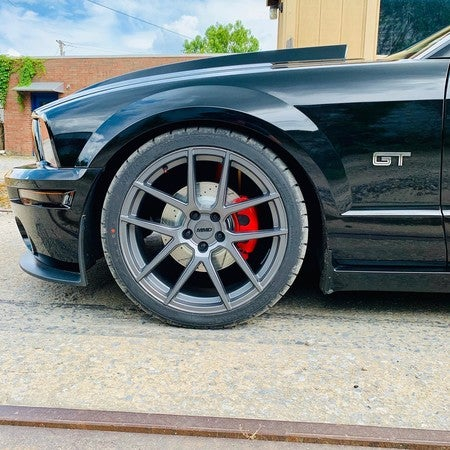 Power Stop S5006C Performance Front Powder Coated Brake Caliper Set