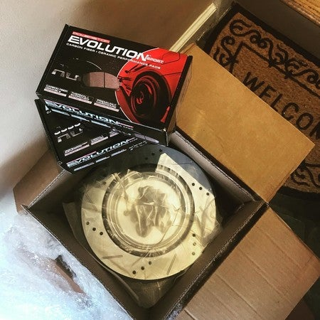 Powerstop Evolution Brake Upgrade For Daily Drivers Quiet And Clean