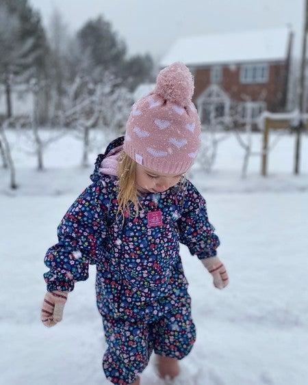 JoJo Maman Bebe Imperméable Polaire Doublé snowuist papillon 18-24 M All-in-One